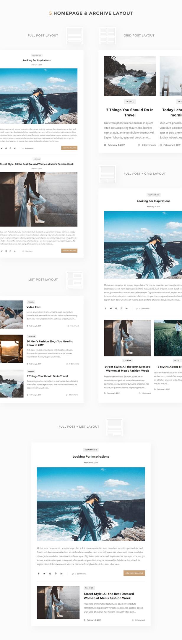 Amelia - Clean Blog & Magazine WordPress Theme + Woocommerce - 5