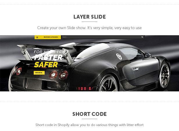 Slideshow Shopify theme