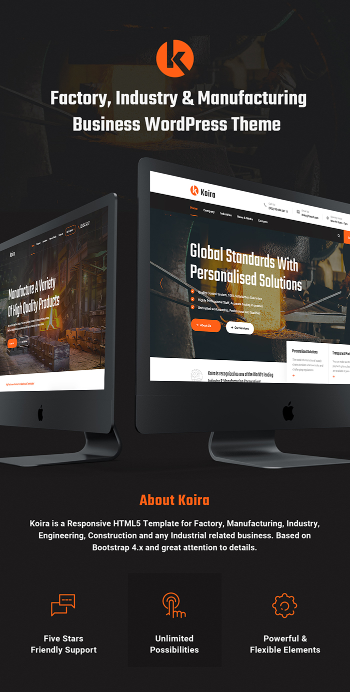 Koira - Industry and Manufacturing HTML5 Template - 5