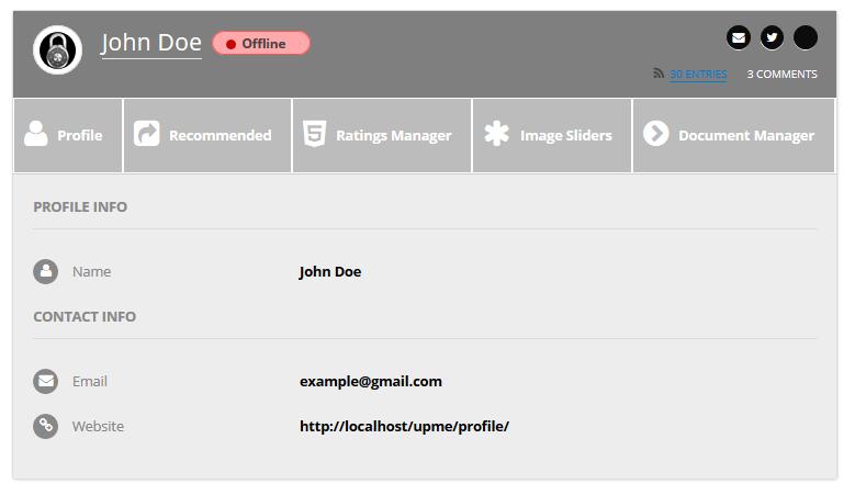 User Profiles Made Easy - WordPress Plugin - 246