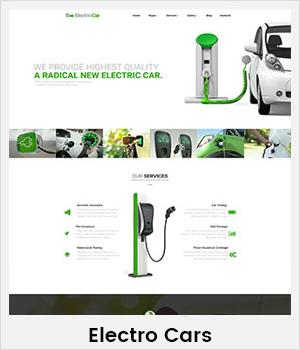 ElectroCars WordPress theme