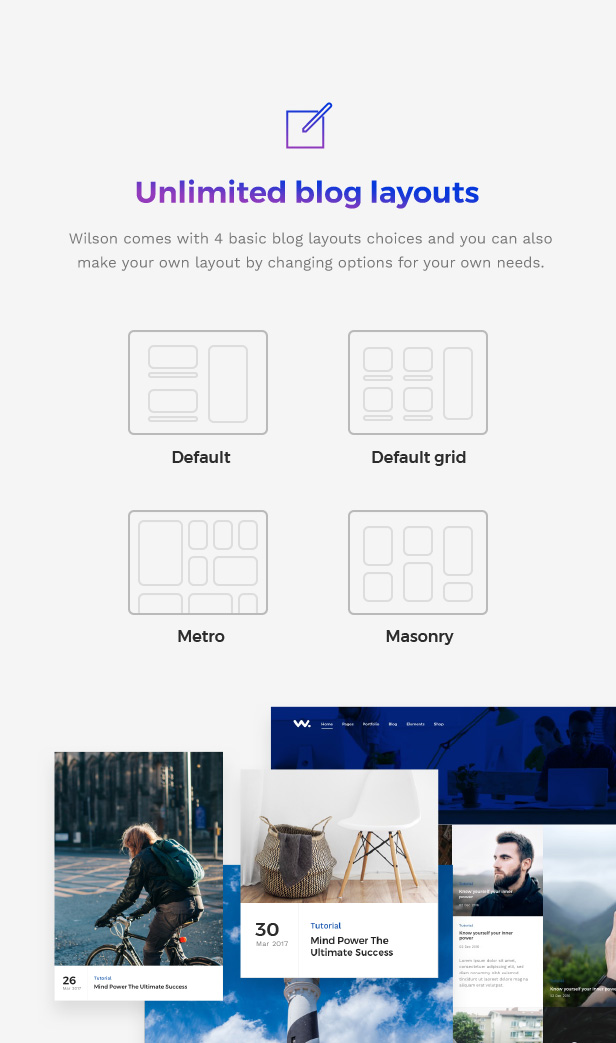 Wilson – Supreme Multipurpose WordPress Theme