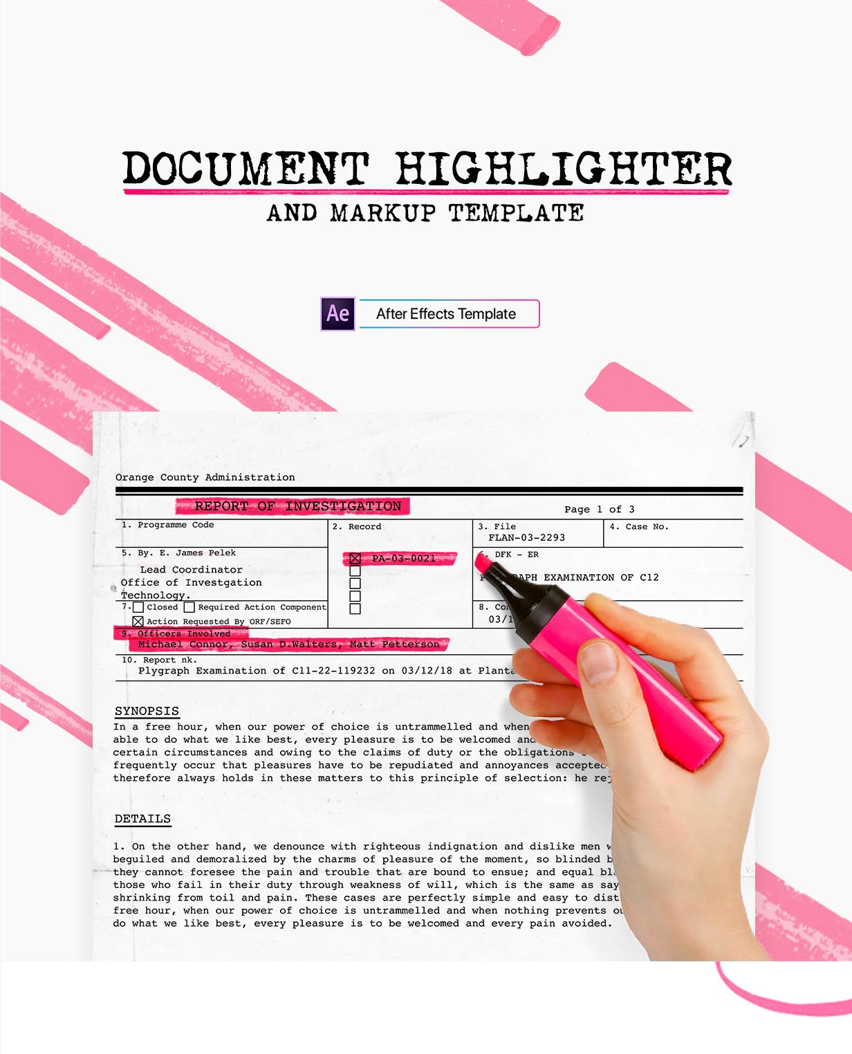 Document Highlighter - 1