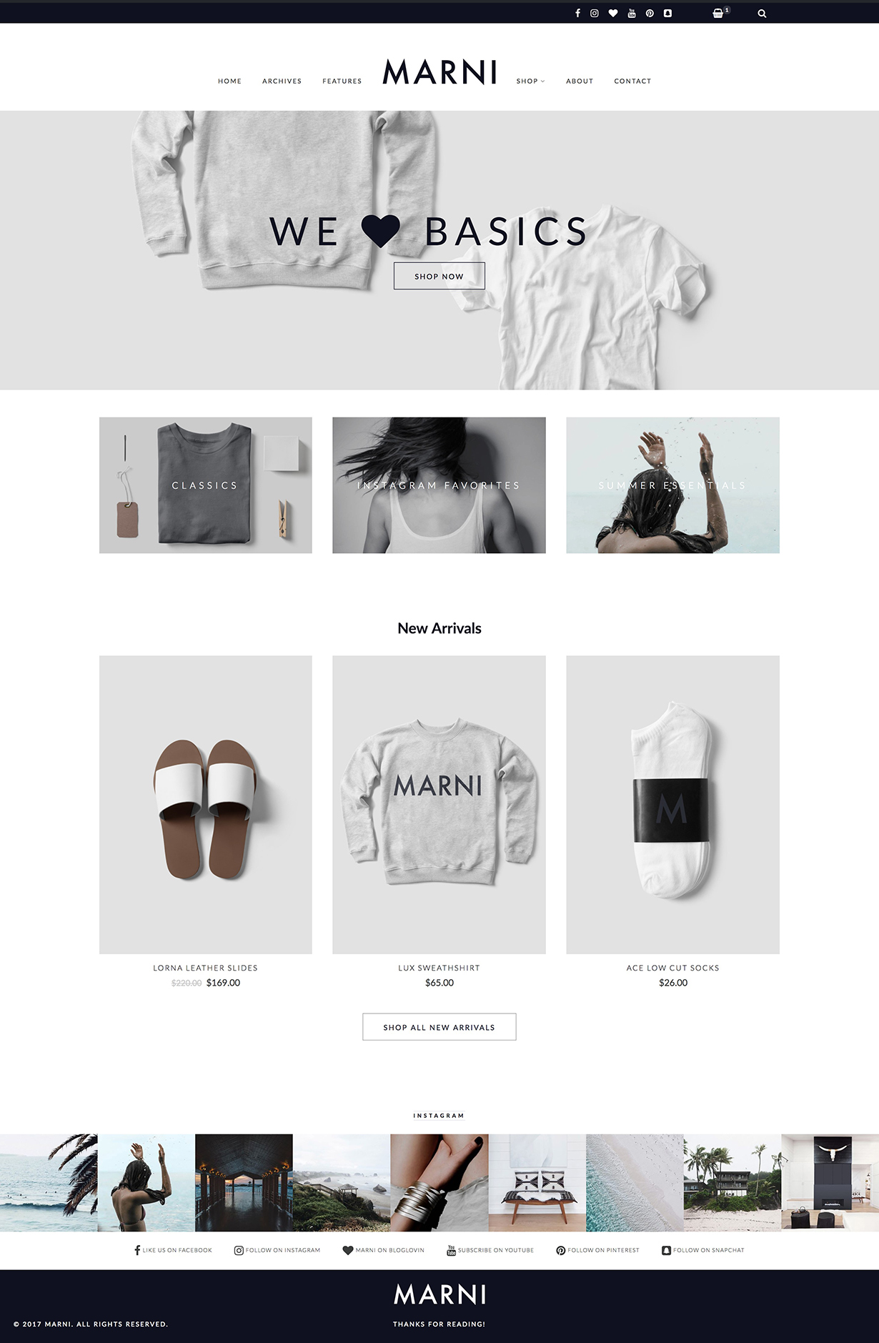 Marni – a WordPress Blog & Shop Theme - 3