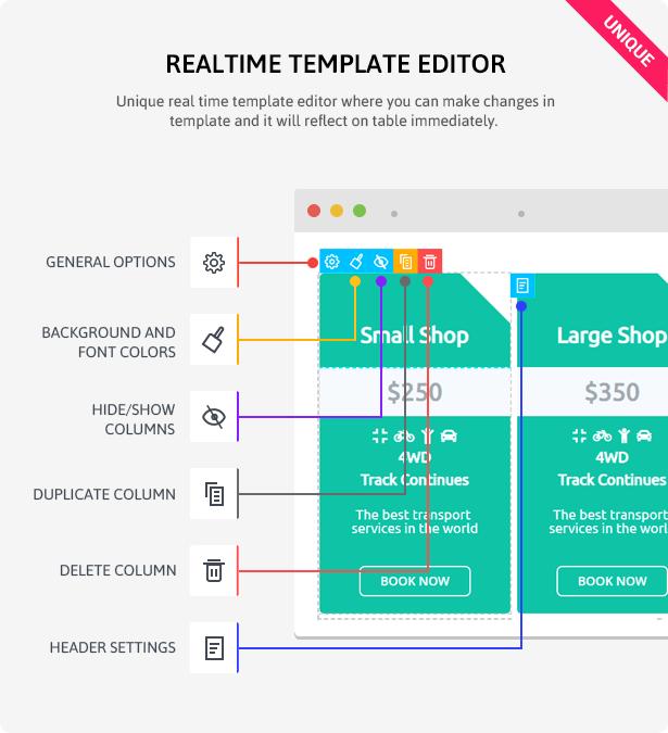 ARPrice - WordPress Pricing Table Plugin - 11