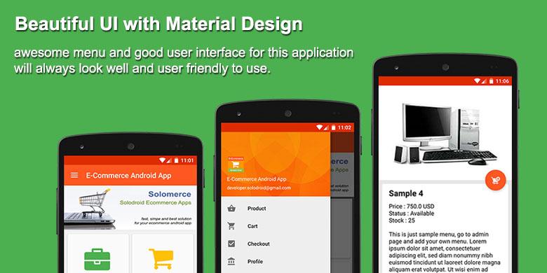 E-Commerce / Online Shop App By Solodroid