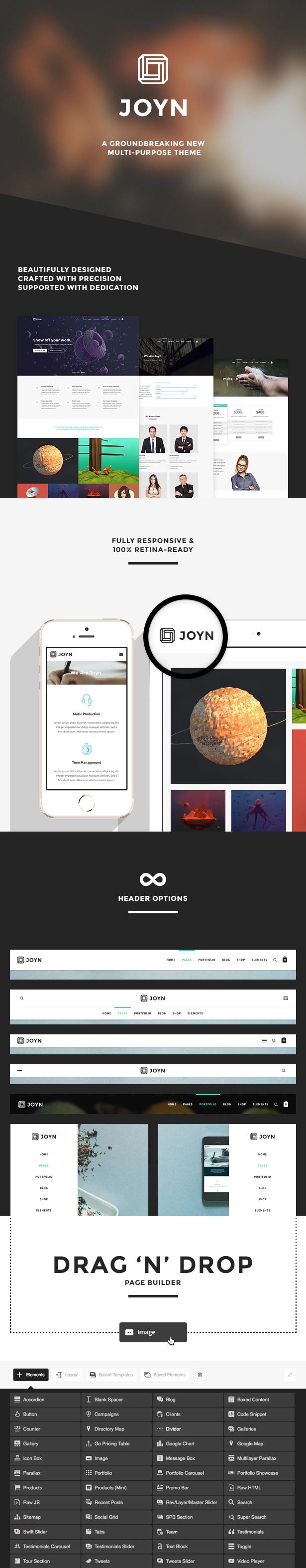 JOYN - Creative Multi-Purpose Theme - 1