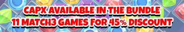 Sweet Mania Match3 HTML5 Game - 1