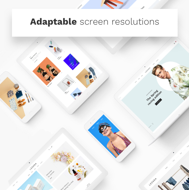 Fashion WooCommerce WordPress Theme - Adaptable Screen Resolutions