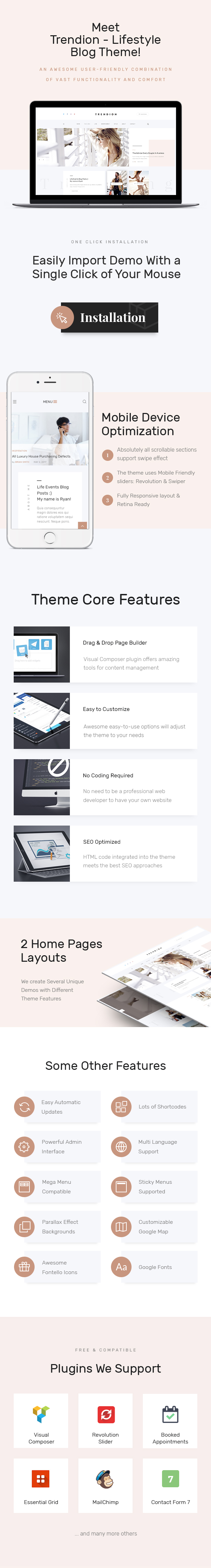 Trendion | A Personal Lifestyle Blog and Magazine WordPress Theme - 1