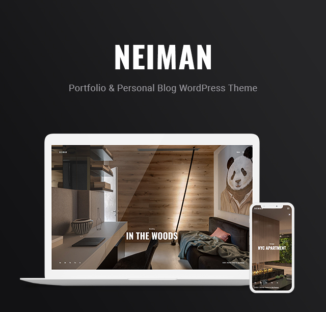 Neiman - Portfolio & Personal Blog WordPress Theme - 4