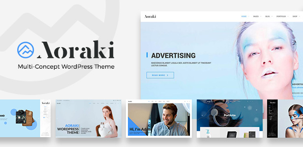 Aoraki - Multi-Concept Business WordPress Theme