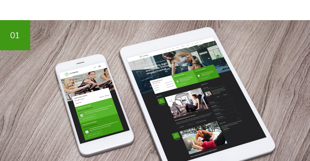 crossfit, boxing, sport, workout, gym and fitness WordPress Theme