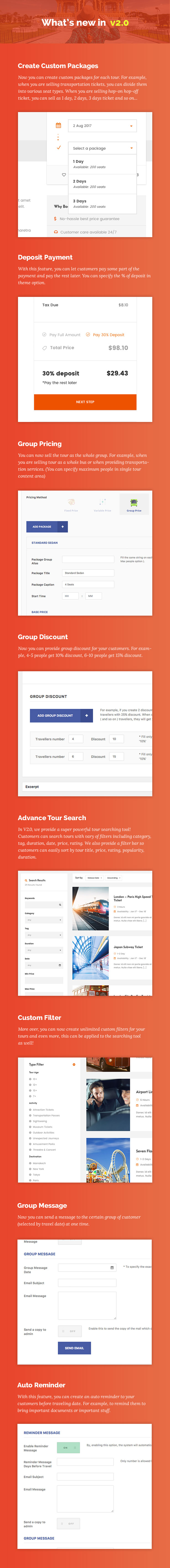 Travel Tour - Tour Booking, Travel Booking WordPress Theme - 10