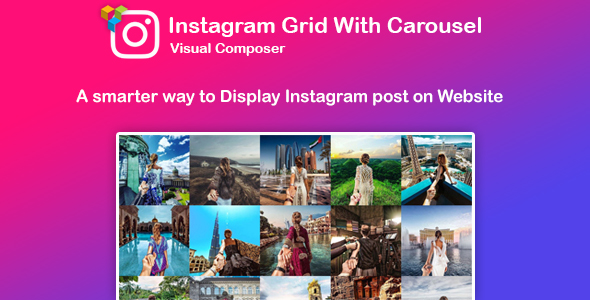 WPBakery Page Builder - Instagram Gallery with Carousel (formerly Visual Composer) - 1