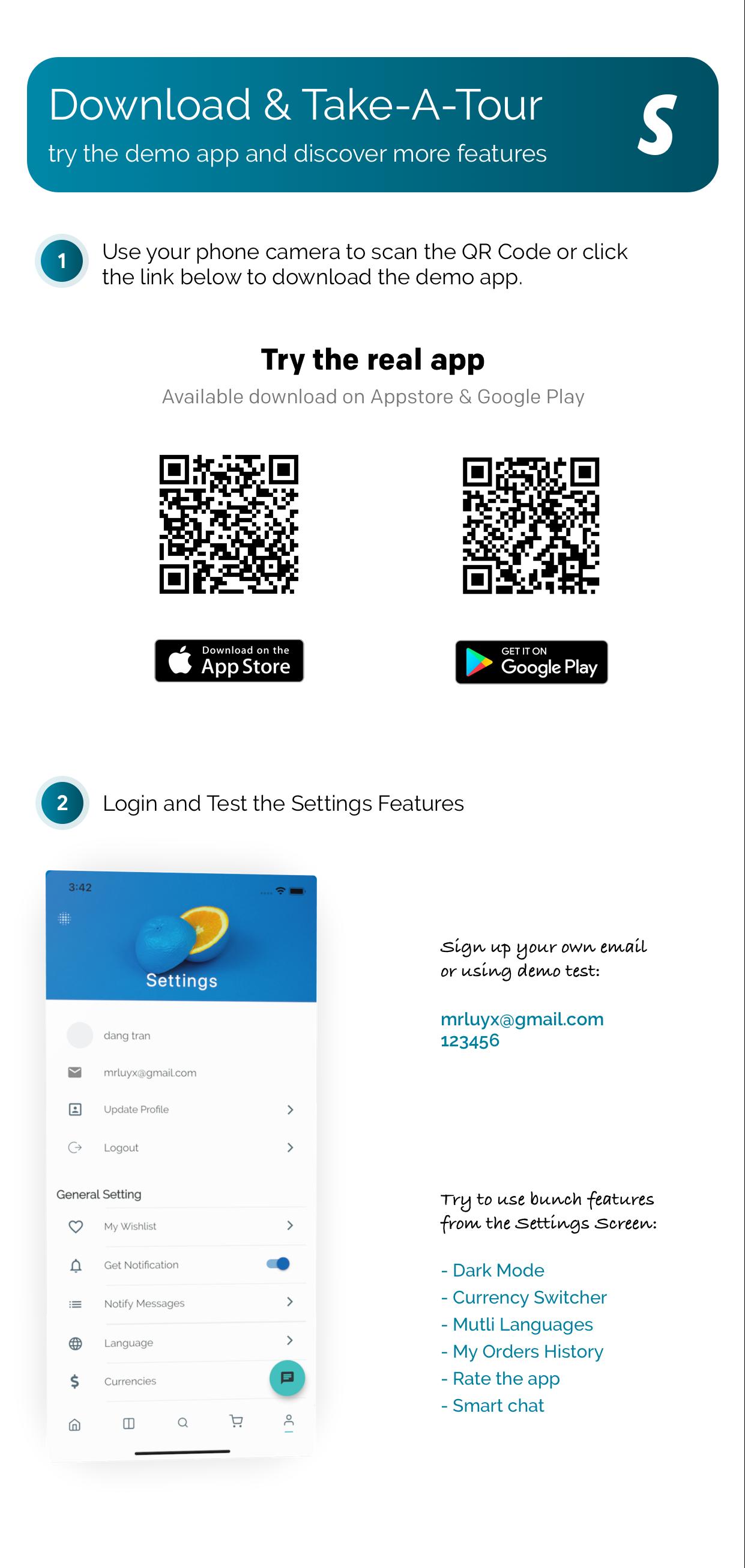 FluxStore Shopify - Die beste Flutter E-Commerce App - 5