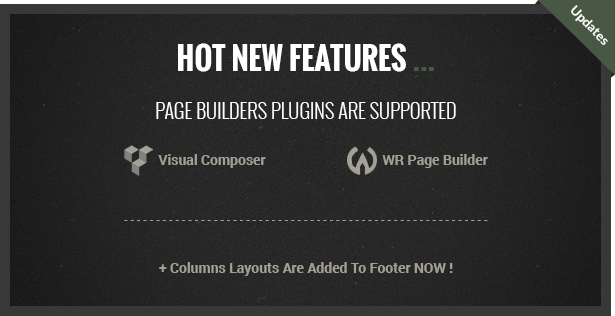 Noise supports page builder plugins