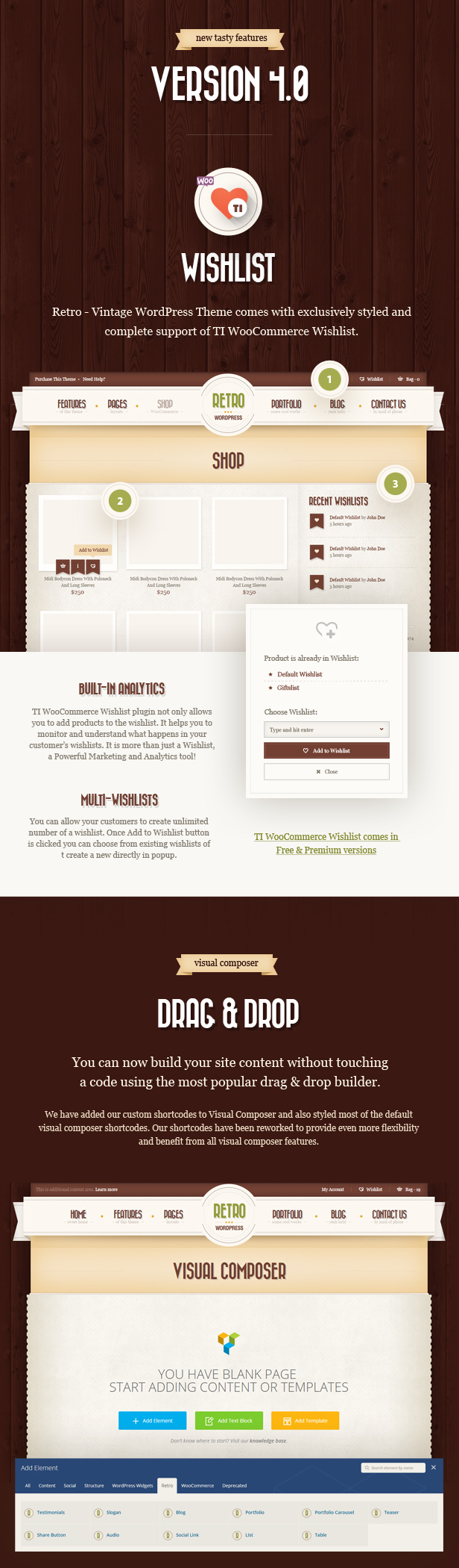 Retro - Vintage WordPress Theme - 2
