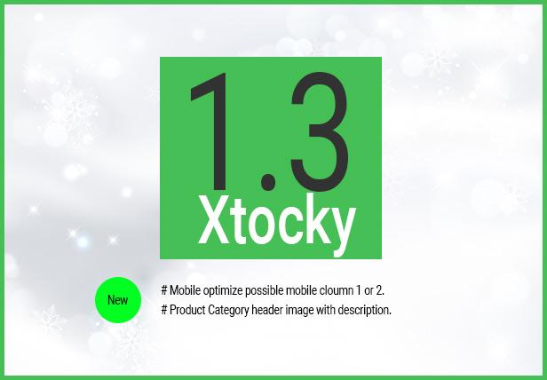Xtocky - WooCommerce Responsive Theme - 1