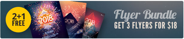 New Year Flyer Bundle Vol.11
