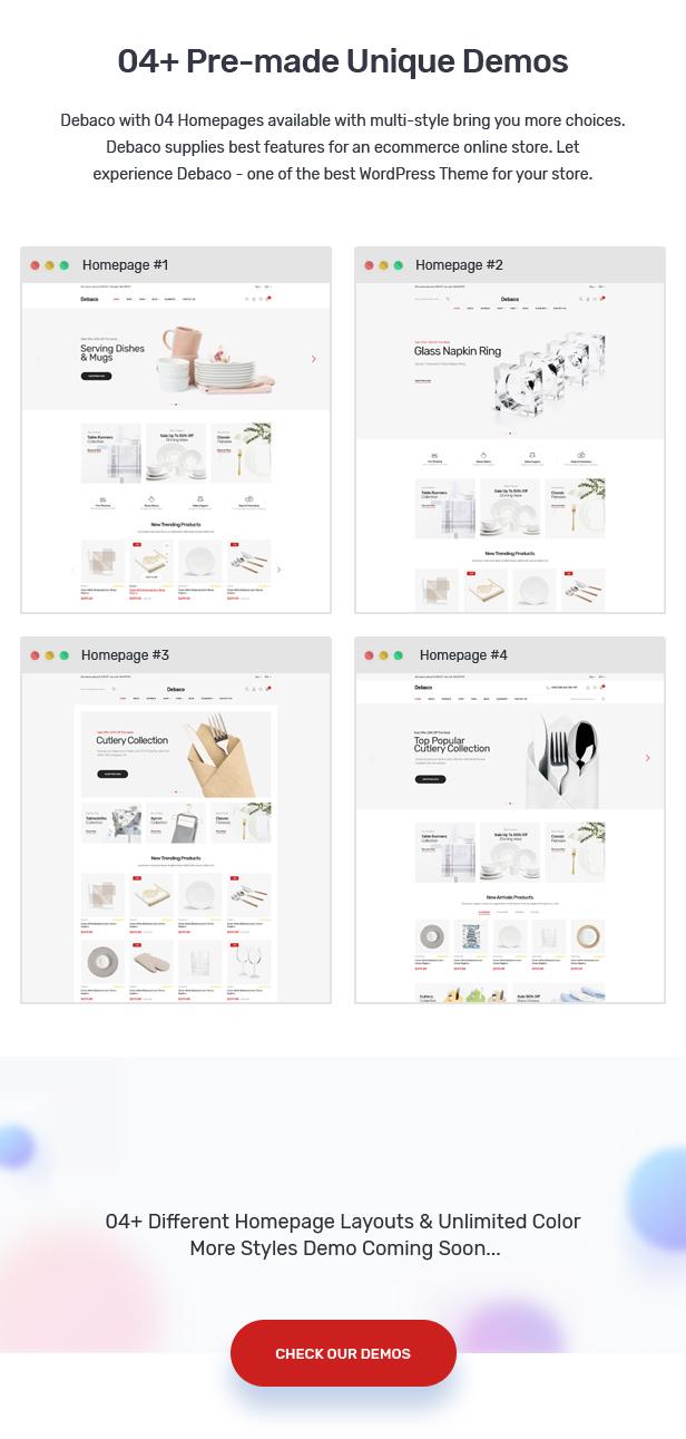 Debaco - Kitchen appliances for WooCommerce WordPress 23