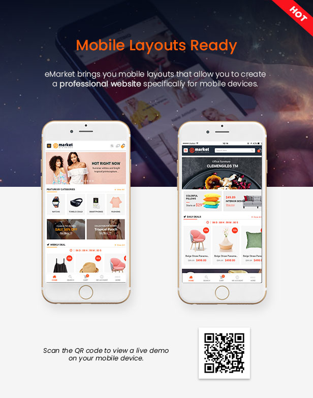 eMarket-多供应商MarketPlace WordPress主题-WooCommerce主题