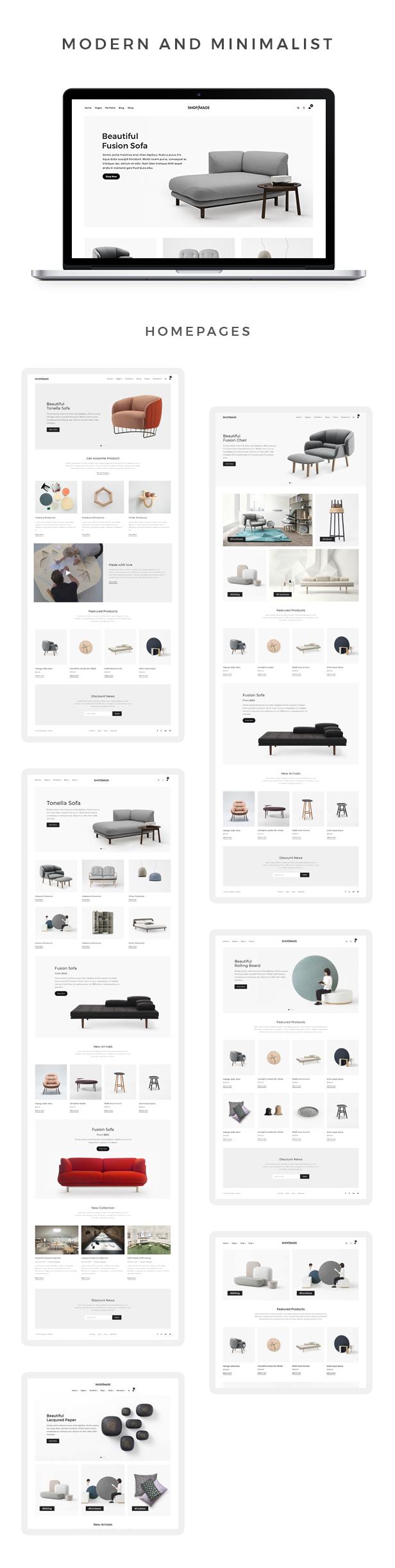 Dukandari - A Modern, Minimalist eCommerce Theme 4