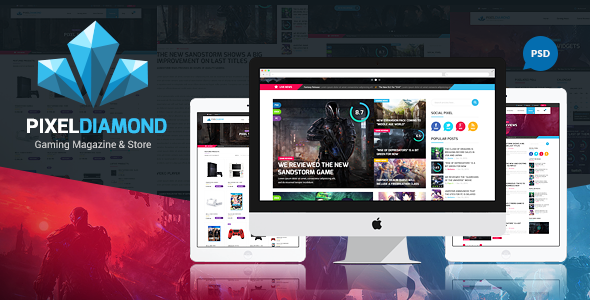 The Colosseum - Sports Magazine PSD Template - 13