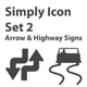 Simply Icon Set 3 (Signage) - 24