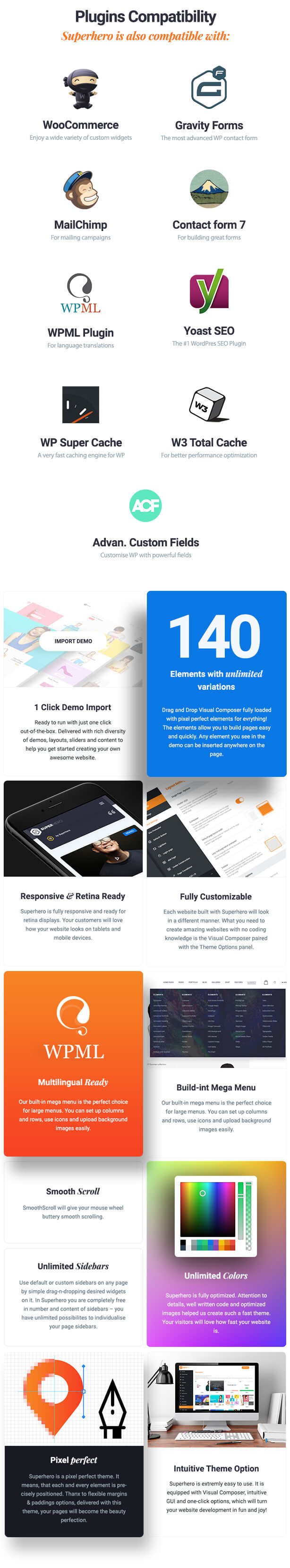 Superhero — Creative Multi-Purpose WordPress Theme - 12