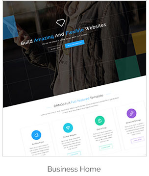 DNG - Responsive HTML5 Template - 7
