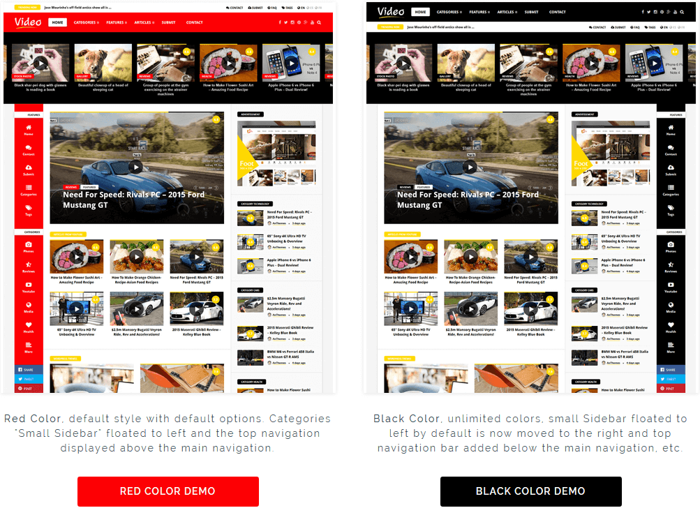 Video News = WordPress Magazine / Newspaper Theme by An-Themes ...