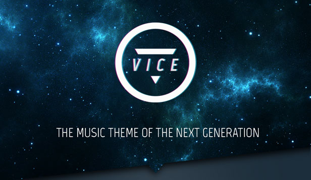 Vice - Music Band, Dj and Radio WordPress Theme