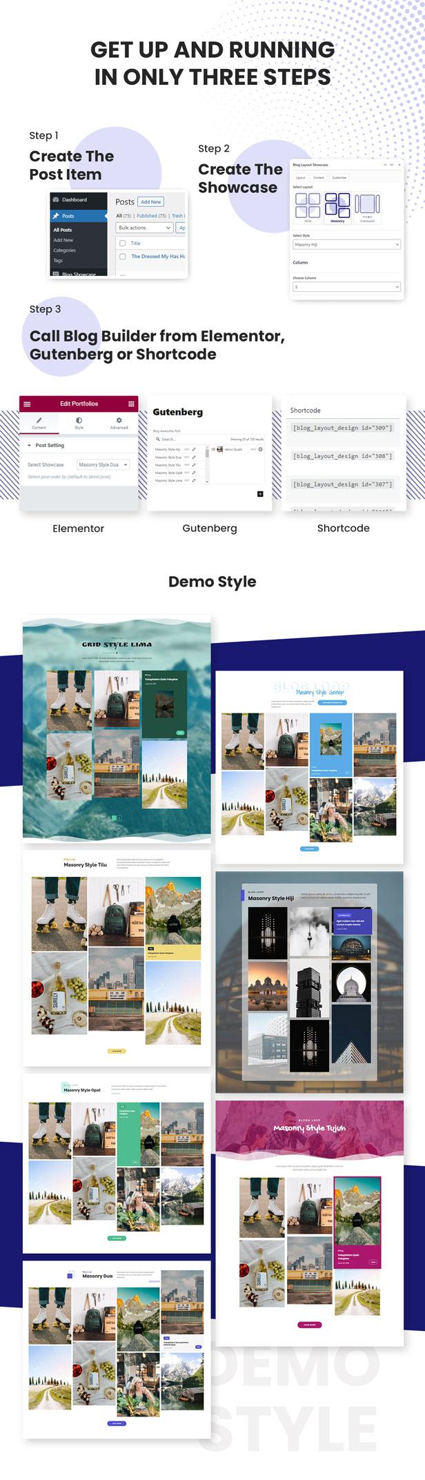 Advanced Masonry Blog Layout Design - 4