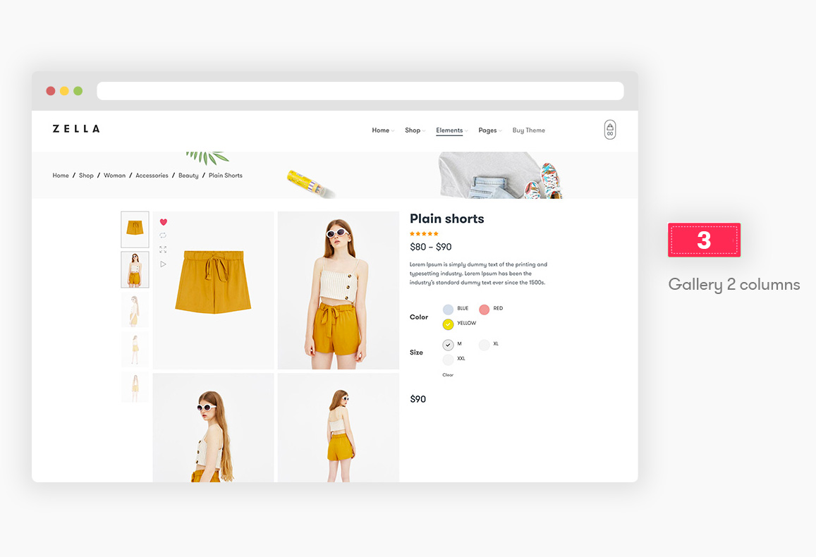 Zella - WooCommerce AJAX WordPress主题 - RTL支持 - 9
