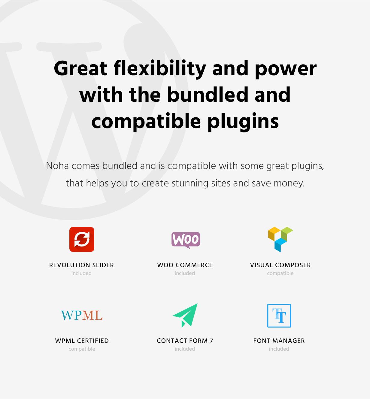 Noha - A modern Agency WordPress Theme for Creatives - 5