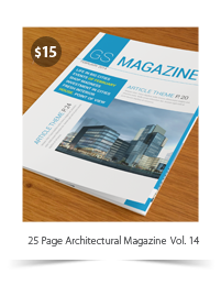 25 Pages Architecture Magazine Vol39 - 6