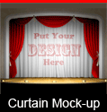 Theater Curtain Mockup