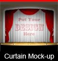 Theater Curtain Mockup