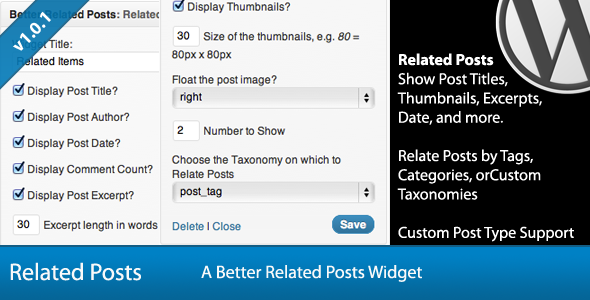 Advanced WordPress Widget Bundle - 5