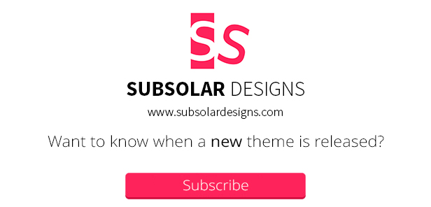 Subsolar Designs Subscription