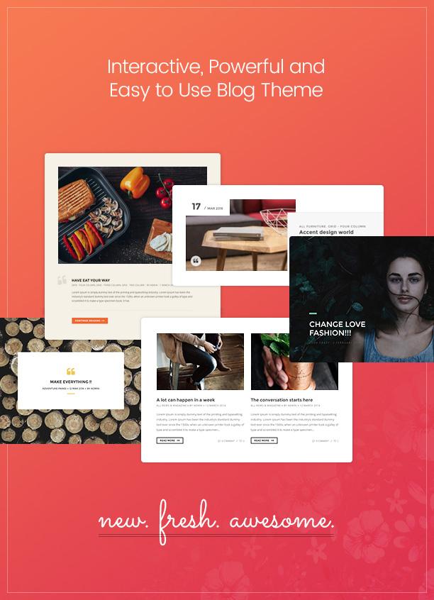 Paperio - Responsive and Multipurpose WordPress Blog Theme - 2