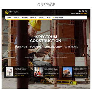 Spectrum - Multi-Trade Construction Business Theme - 7