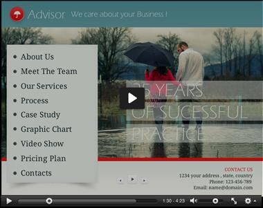 Advisor PowerPoint Template - 2