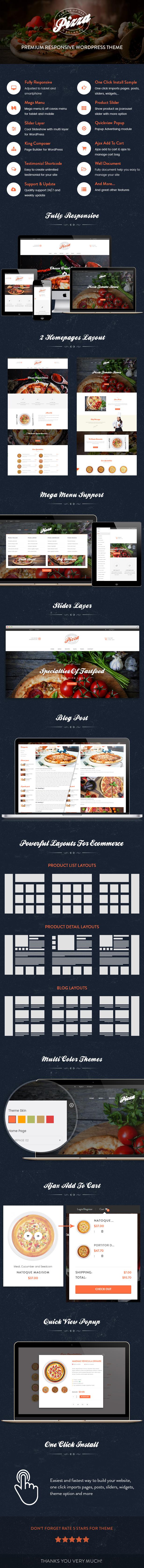 JMS Pizza Wordpress Theme