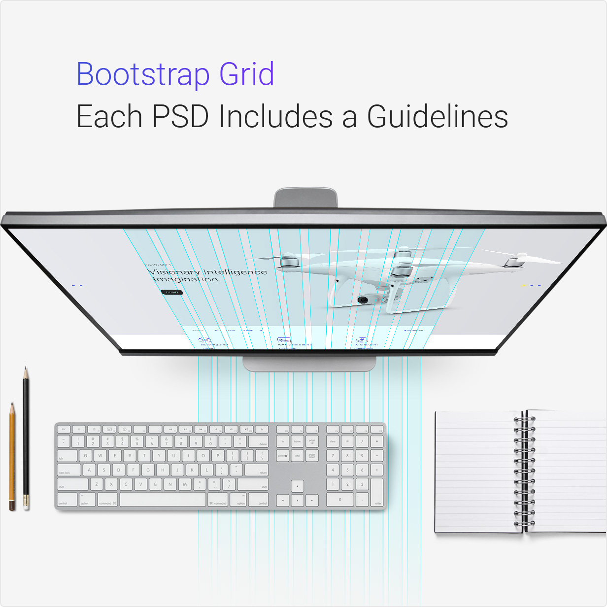 Bzzz - Gadgets eCommerce PSD Template - 2