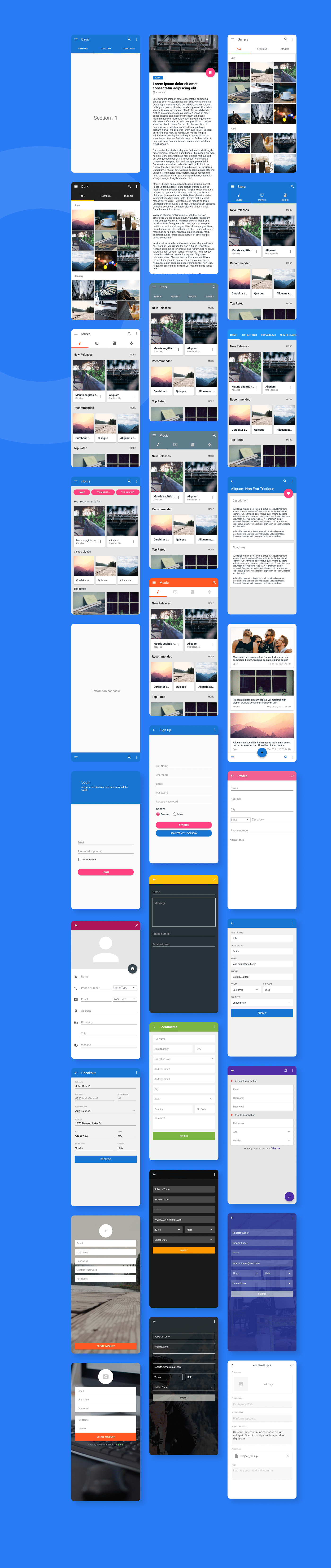 MaterialX - Android Material Design UI Components 2.7 - 22