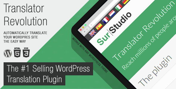 Translator Revolution Wordpress Plugin