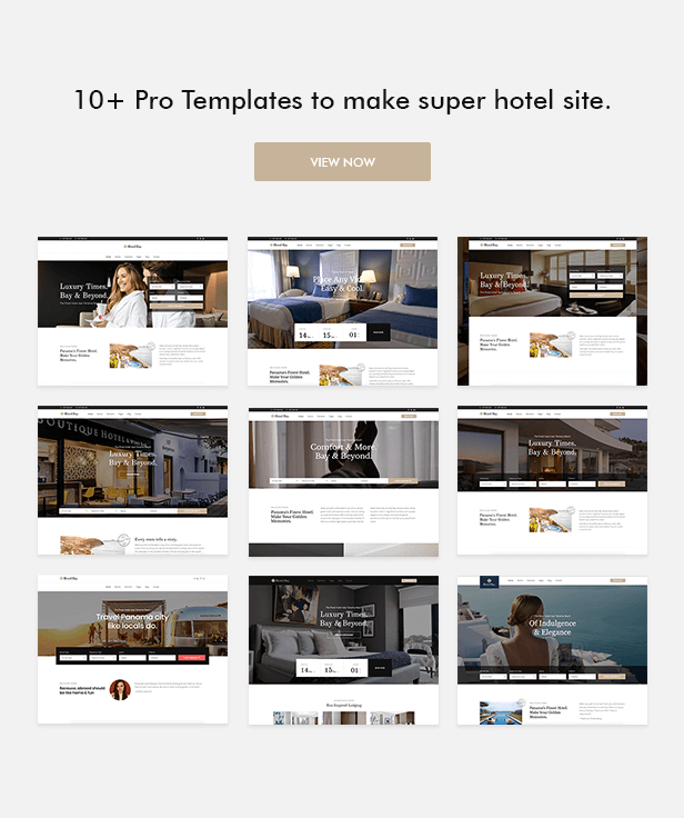 Hotel Luxe - Hotel WordPress Theme