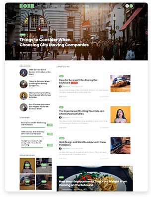 Bone - Minimal and Clean WordPress Blog Theme - WooCommerce Compatible. - 5